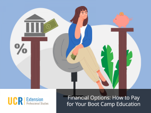 How to pay for UCR Extension Boot Camps